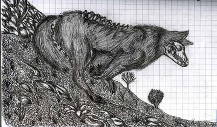 skull ink by SaitirWolf