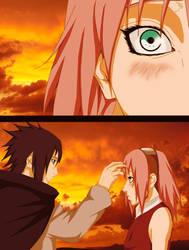 Sakura and Sasuke by GEVDANO