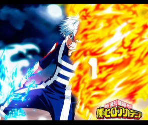 My-Hero-Academia-Todoroki-Shouto by GEVDANO