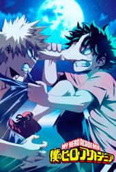 My-hero-Academia.Midoriya-vs-Bakugou-part-3 by GEVDANO