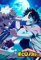My-hero-Academia.Midoriya-vs-Bakugou-part-3 by GEVDANO