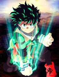 Midoriya-Izuku.-My-Hero-Academia by GEVDANO