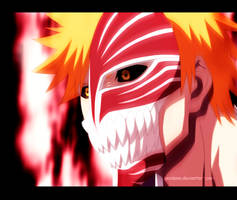 Ichigo-Hollow-Mask-form by GEVDANO