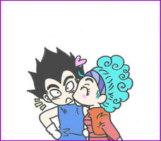 Vegeta And Bulma by Waylove94
