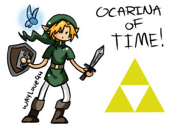 Oot Link-Adventure Time Style by Waylove94