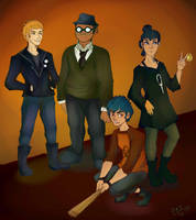 Night in The Woods Crew by YuMiB3at