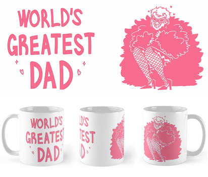 WORLD'S GREATEST DAD MUGS by Deer-Head