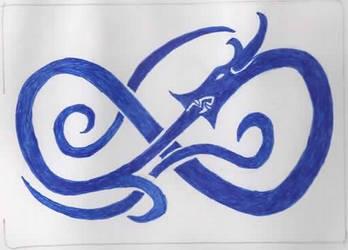 Blue Dragon by vicskywalker
