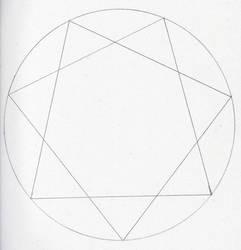heptagram by vicskywalker