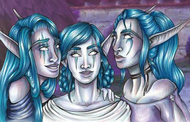 Trio by Clutchie