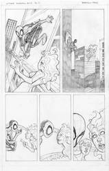 Spiderman Sample Sequential page #2 by professorbrandon