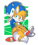 AT: Sonic and Tails by MeLoDyClerenes