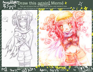 LOL LOOK AT THIS HALF-ASSED RE-DRAW by AmongOtaku