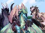 [Pyrrhia-Pantala AU] - The Scavenger Hunt by Biohazardia
