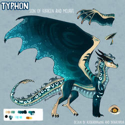 [PPAU - The Next Generation] - Prince Typhon by Biohazardia