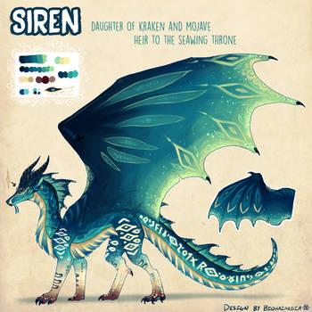 [PPAU - The Next Generation] - Princess Siren by Biohazardia