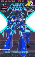 Mega Man 39 pixel variant cover by RyanJampole