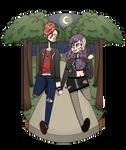 {AT} Midnight Strolls~ by Bubblegum-girl11