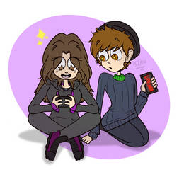 {AT} Gaming~ by Bubblegum-girl11