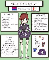 ~Meet the Artist~ by Bubblegum-girl11