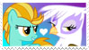 Gilda x Lightning Dust Stamp by Mario-Wolfe