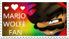 Mario Wolfe Stamp by Mario-Wolfe