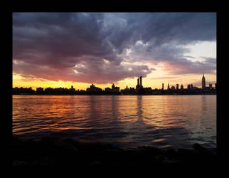 NY, Sunset 3 by severfire