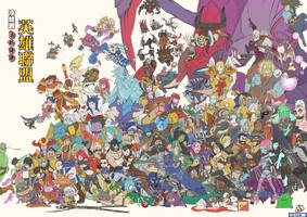 League of legends all champions by lcomicer