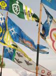 FLAGES OF THE KINGDOM by AnitaBurnevik
