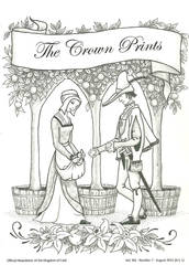 THE CROWN PRINTS AUGUST 2015 BARONY OF GYLDENHOLT by AnitaBurnevik
