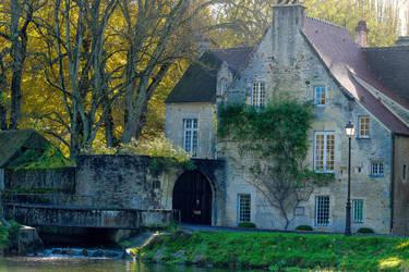 Falaise Calvados France by hubert61