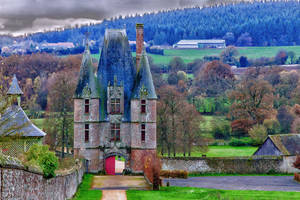 Entered the castle of Carrouge Orne France by hubert61