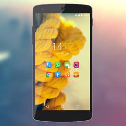 Nexus 5 - Yellow Colors by Kristof-clg