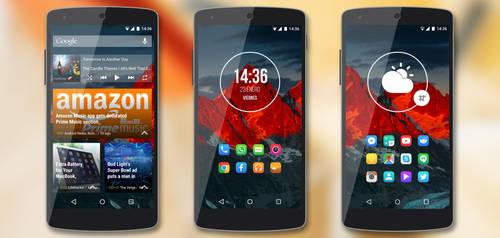 Black n Red - Nexus 5 by Kristof-clg