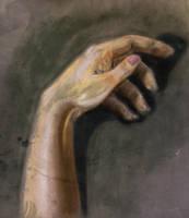Hand study by Awstein