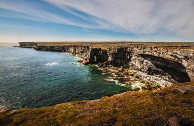 Cliffs of Aran by Awstein