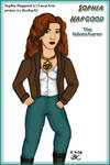 Sophia Hapgood, Adventurer by MutantPiratePrincess