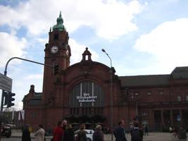 Back at Wiesbaden Main Station by MutantPiratePrincess