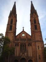 Back at the Church in Wiesbaden by MutantPiratePrincess
