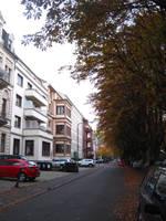 Alley in Wiesbaden 01 by MutantPiratePrincess