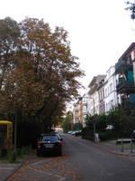Alley in Wiesbaden 02 by MutantPiratePrincess