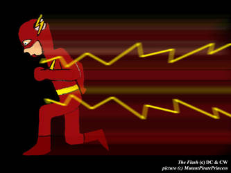 Flash Running by MutantPiratePrincess