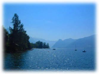 Blue Lake by MutantPiratePrincess