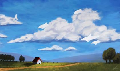 Ocean sky. by Zary-CZ