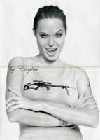 Angelina Jolie by Eugial