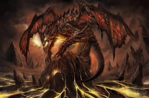 fire dragon by skaiChu