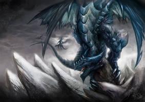 wind dragon by skaiChu