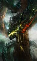 dragon by skaiChu
