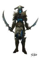 undead warrior by skaiChu