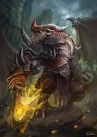 Dragon Warrior by skaiChu